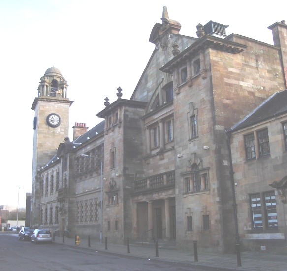 Town hall in clydebank